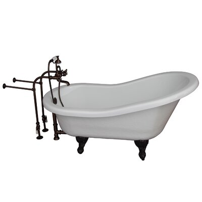 "Tub Kit 24.5"" x 60"" Bathtub Color: Oil Rubbed Bronze"
