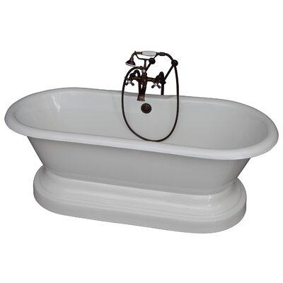 "67.75"" x 31"" Soaking Bathtub Kit Color: Oil Rubbed Bronze"