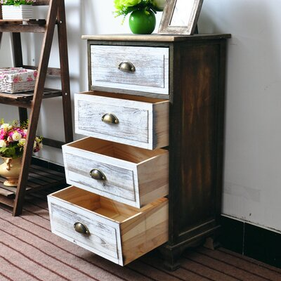 Villalvazo 4 Drawer Accent Chest