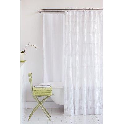 Rachael 100% Cotton Shower Curtain