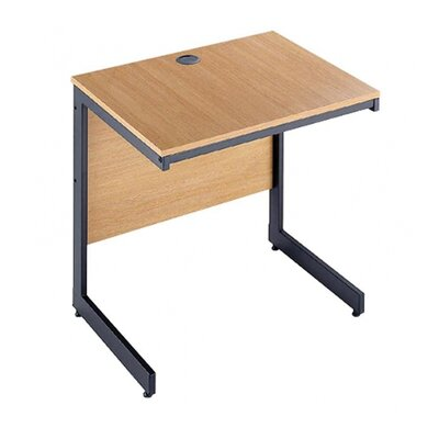 Office Basics Maestro Desk Shell with Cable Management