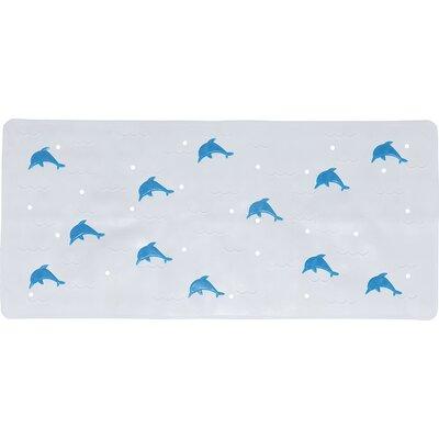 Blair Anti Slip Bath Rug Color: Blue