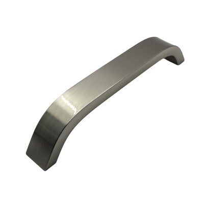 "Handle Stainless Steel Arch Pull (Set of 2) Size: 0.75"" H x 5.87"" W x 1.25"" D"