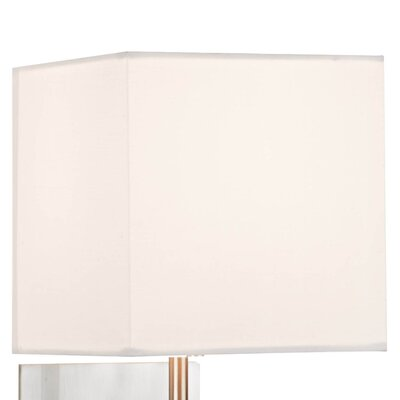 Dar Lighting Sicily Cotton Square Wall Sconce Shade