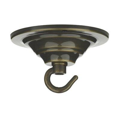 Dar Lighting Single Hook Plate