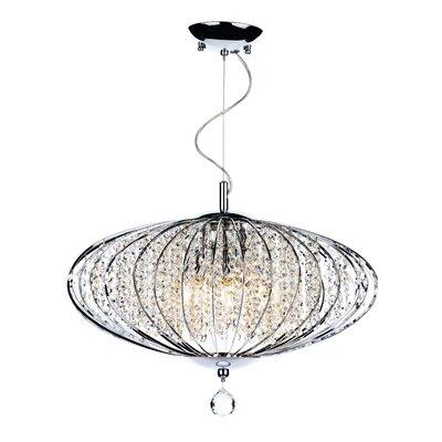 Dar Lighting Adriatic 5 Light Globe Pendant