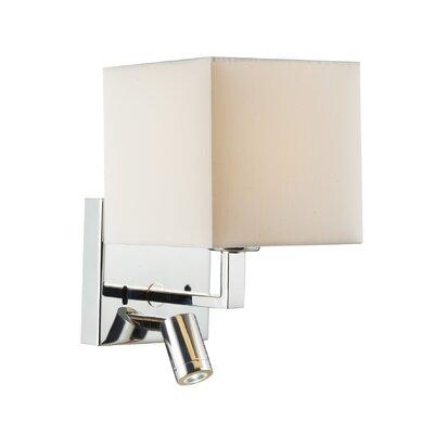 Dar Lighting Anvil 1 Light Semi-Flush Wall Light