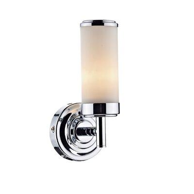 Dar Lighting Century 1 Light Semi-Flush Wall Light