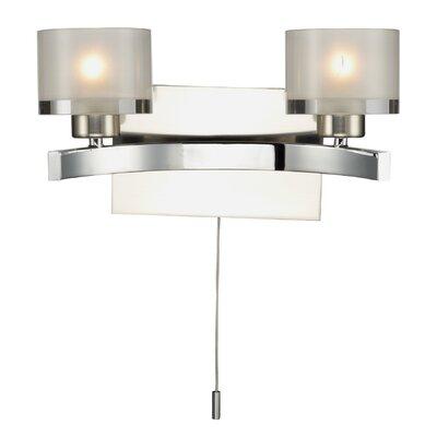 Dar Lighting Eton 2 Light Semi-Flush Wall Light