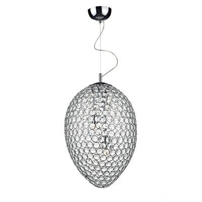 Dar Lighting Frost 3 Light Globe Pendant
