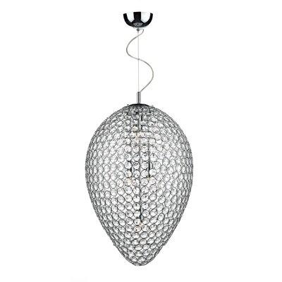 Dar Lighting Frost 5 Light Globe Pendant