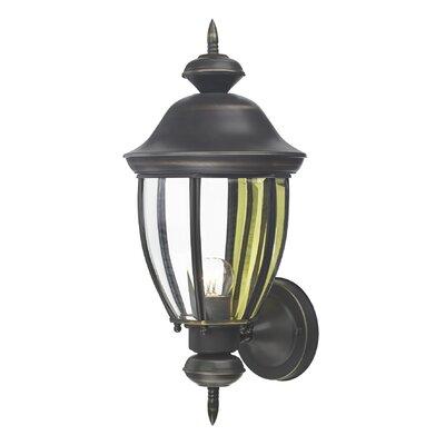 Dar Lighting Lodge 1 Light Outdoor Sconce