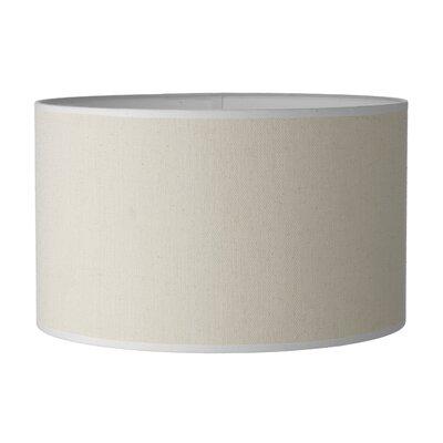 Dar Lighting 40cm Saddler Drum Lamp Shade