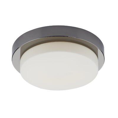 Dar Lighting Nemo 1 Light Flush Ceiling Light