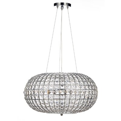 Dar Lighting Plaza 3 Light Globe Pendant