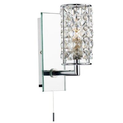 Dar Lighting Rhodes 1 Light Semi-Flush Wall Light