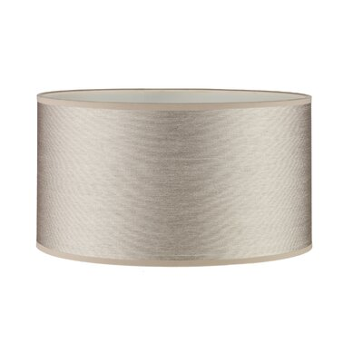 Dar Lighting 40cm Tuscan Drum Lamp Shade