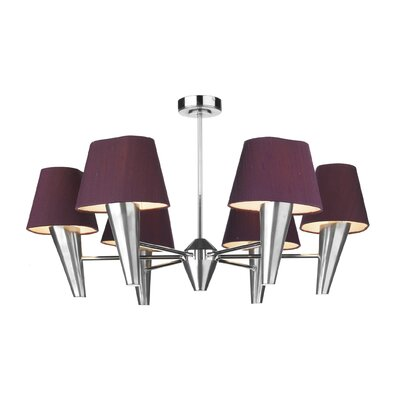 Dar Lighting Aspen 6 Light Cluster Pendant