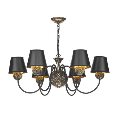 Dar Lighting Novella 6 Light Chandelier