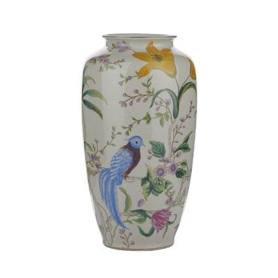 Dar Lighting Floral / Bird Vase