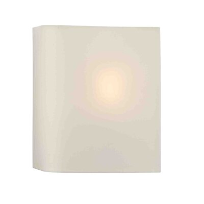 Dar Lighting Bugle 1 Light Flush Wall Light