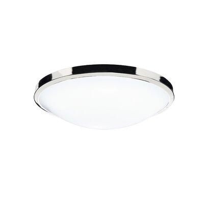 Dar Lighting Dover 1 Light Flush Ceiling Light
