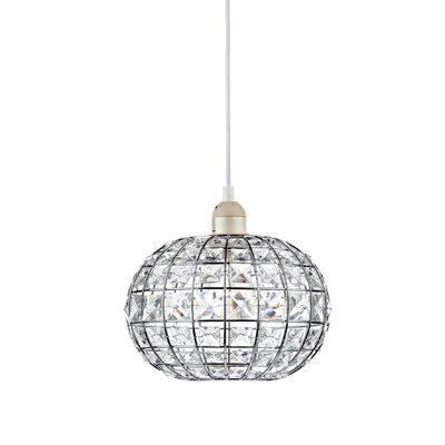 Dar Lighting Letitia 1 Light Globe Pendant