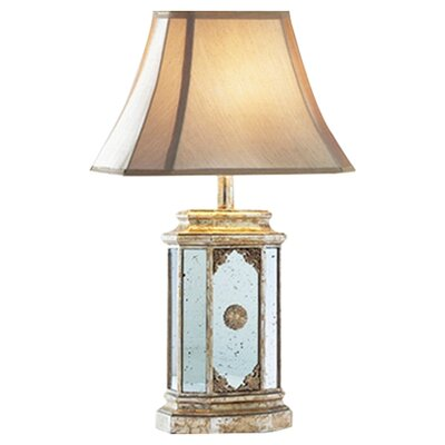 Dar Lighting Park Brass 65cm Table Lamp