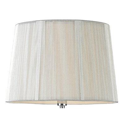 Dar Lighting 38cm Arpeggio Silk Empire Lamp Shade