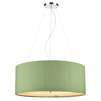 Dar Lighting Renoir 6 Light Drum Pendant