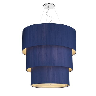 Dar Lighting Renoir 12 Light Drum Pendant