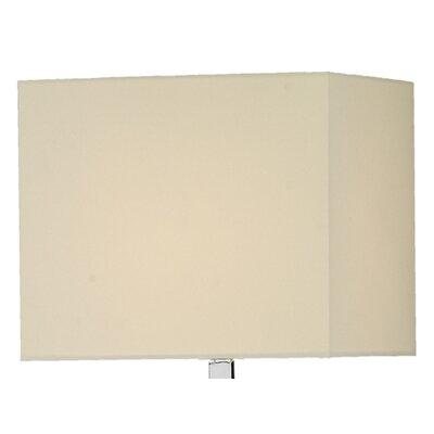 Dar Lighting 30cm Square Lamp Shade