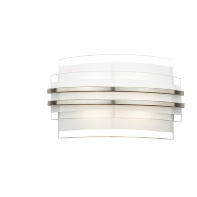 Dar Lighting Sector 1 Light Flush Wall Light