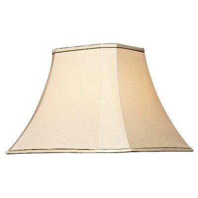 Dar Lighting 37cm Uma Square Lamp Shade
