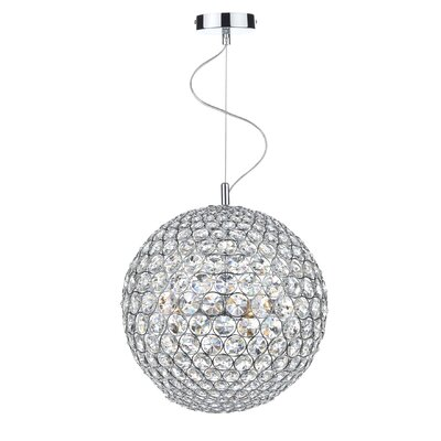 Dar Lighting Fiesta 12 Light Globe Pendant