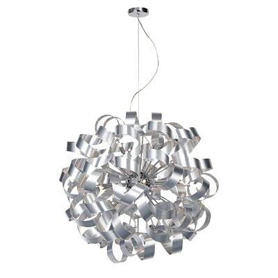 Dar Lighting Rawley 12 Light Geometric Pendant
