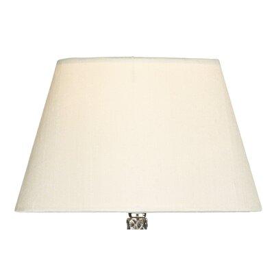 Dar Lighting 20cm Silk Empire Lamp Shade