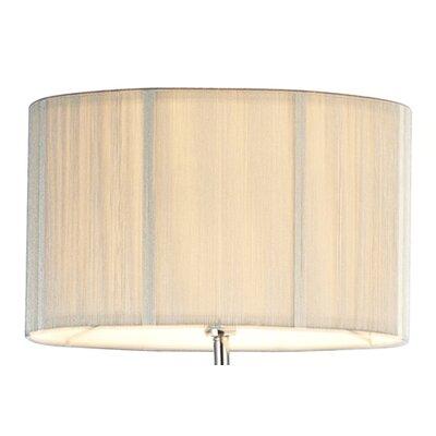 Dar Lighting 38cm Hewitt Drum Lamp Shade