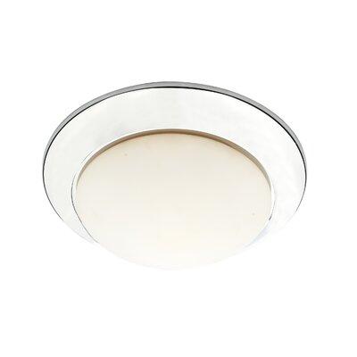 Dar Lighting Yeoman 1 Light Flush Ceiling Light