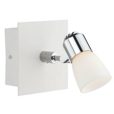 Dar Lighting Oxygen 1 Light Wall Spotlight