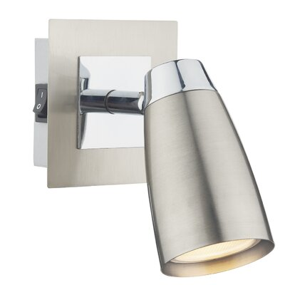 Dar Lighting Loft 1 Light Wall Spotlight