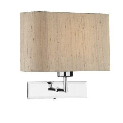 Dar Lighting Amalfi 1 Light Flush Light Lamp Base