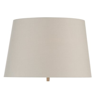 Dar Lighting Faux Silk Empire Lamp Shade