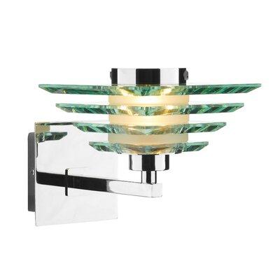 Dar Lighting Stirling 1 Light Semi-Flush Wall Light