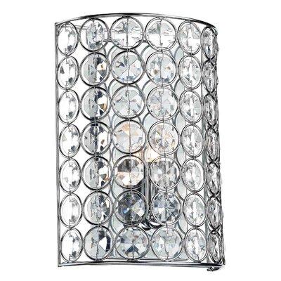 Dar Lighting Girona 1 Light Flush Wall Light