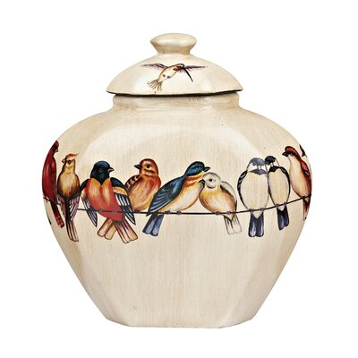 Dar Lighting Multi Bird Vase