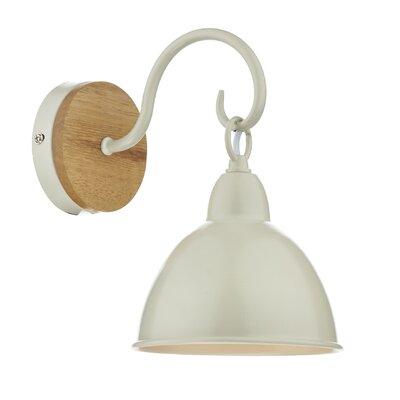 Dar Lighting Blyton 1 Light Flush Wall Light