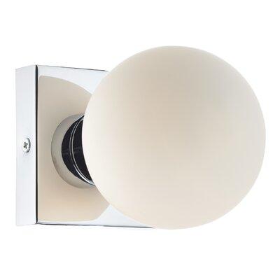 Dar Lighting Boom 1 Light Flush Wall Light