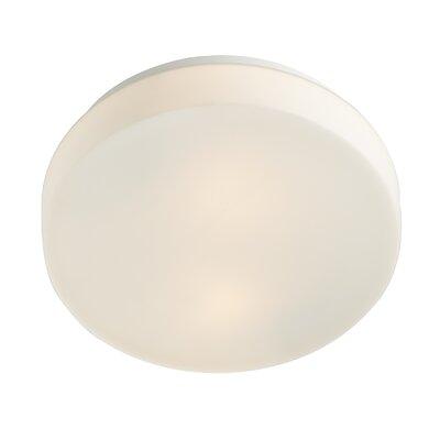 Dar Lighting Taxa 1 Light Flush Ceiling Light
