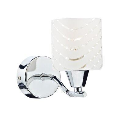 Dar Lighting Idol 1 Light Semi-Flush Wall Light